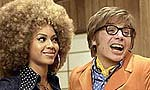 "Beyoncé Knowles and Mike Myers in ""Austin Powers in Goldmember"""