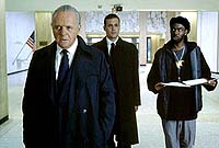 "Anthony Hopkins, Gabriel Macht and Chris Rock in ""Bad Company"""