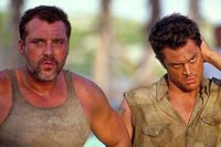 "Tom Sizemore and Johnny Knoxville in ""Big Trouble"""