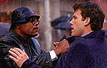 "Samuel L. Jackson and Ben Affleck in ""Changing Lanes"""