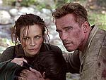 "Francesca Neri and Arnold Schwarzenegger in ""Collateral Damage"""