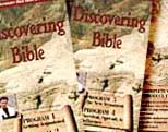 "Partial box art for ""Discovering the Bible"""