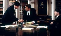 "Desmond Doyle's legal team in ""Evelyn"""