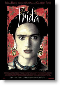 Frida poster. Copyright, Miramax Films