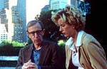 "Woody Allen and Téa Leoni in ""Hollywood Ending"""
