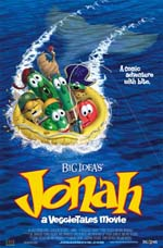 Poster art for Jonah—a VeggieTales Movie
