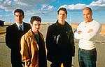 Andrew Davoli, Seth Green, Barry Pepper and Vin Diesel in Knockaround Guys