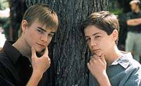 "David Gallagher and Michael Angarano in ""Little Secrets"""