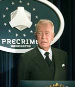 "Max Von Sydow in ""Minority Report"""