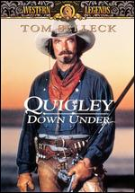 "Cover art for ""Quigley Down Under"""