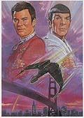 "Poster art for ""Star Trek IV"""