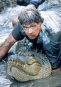 "Steve Irwin in ""The Crocodile Hunter"""