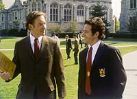 Kevin Kline and Rob Morrow in 'The Emperor's Club'