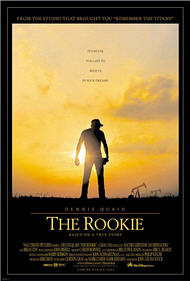 The Rookie poster. Copyrighted by distributor.
