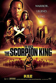 The Scorpion King poster.
