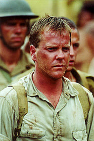 "Kiefer Sutherland as Lt. Tom Rigden in ""To End All Wars"". Copyright, 20th Century Fox Home Entertainment, Argyll Film Partners"
