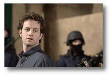 "Kirk Cameron as reporter Buck Williams in ""Left Behind II: Tribulation Force"""