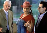 Steve Martin, Queen Latifa and Eugene Levy, courtesy Touchstone Pictures