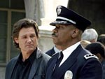 Kurt Russell and Ving Rhames in Dark Blue, copyright, United Artists