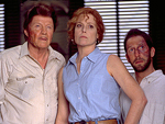 Jon Voigt, Sigourney Weaver, and Tim Blake Nelson, courtesy of Disney