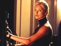 "Charlize Theron in ""The Italian Job,"" courtesy of Paramount"