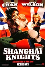 "Jackie Chan and Owen Wilson in ""Shanghai Knights,"" courtesy Buena Vista Pictures"