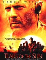 Bruce Willis in Tears of the Sun, courtesy Revolution Studios