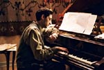 Adrien Brody at the Piano