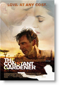 The Constant Gardner poster