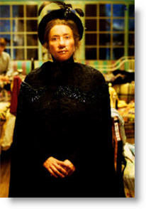Emma Thompson in Nanny McPhee. Copyrighted.