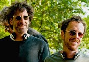 Coen Brothers. Photo copyright, Focus Features