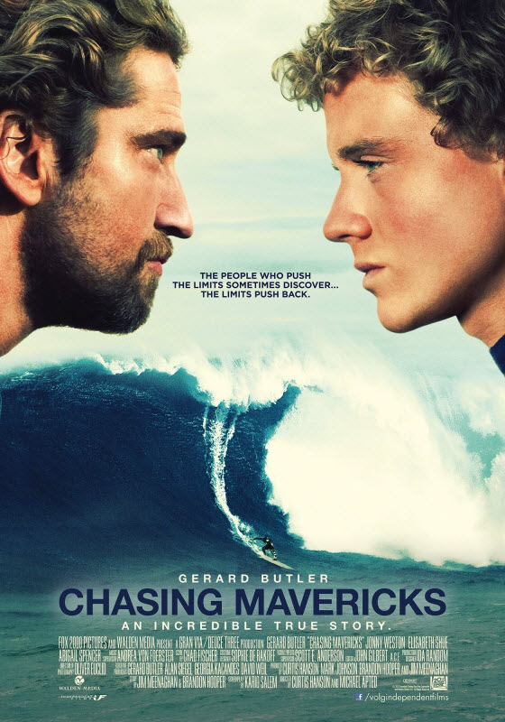 Chasing Mavericks (2012) …review and/or viewer comments ...
