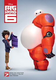 Don Hall, Chris Williams and Roy Conli in Big Hero 6