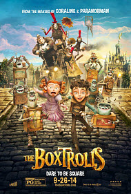 Anthony Stacchi, Graham Annable and Travis Knight in The Boxtrolls
