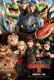 Dean DeBlois and Bonnie Arnold in How to Train Your Dragon 2