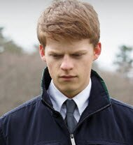 Lucas Hedges in Manchester by the Sea
