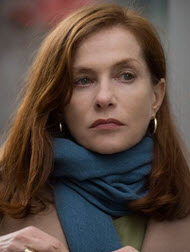 Isabelle Huppert in Elle