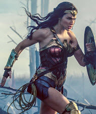 "scene from ""Wonder Woman."" Copyright, Warner Bros. Pictures"