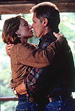 Harrison Ford and Kristin Scott Thomas in Random Hearts.