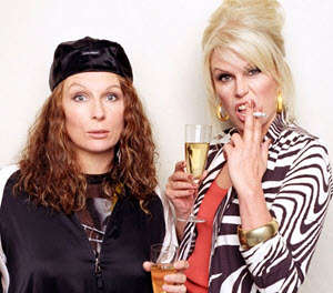 Absolutely Fabulous. Copyright © BBC.