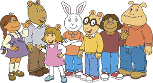 Arthur characters. Copyright © PBS.